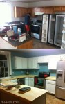 DIY Kitchen Makeover Part One: Refinishing Cabinets