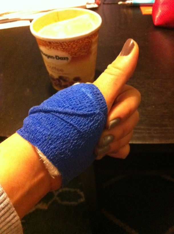 Thumbs Up_bandaged